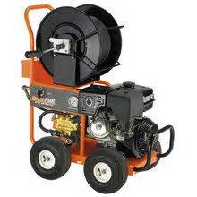 gas powered hydro sewer jetter rental rent gas powered