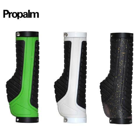 Patch Rubber New Hitam Putih propalm non slip grip kenyamanan gunung ergonomis sepeda bersepeda stang grip karet penguncian