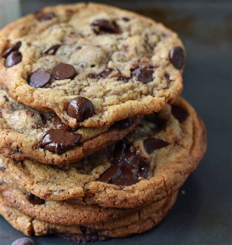 Chocolate Grande Coffee Toffee thin chewy chocolate chip cookies
