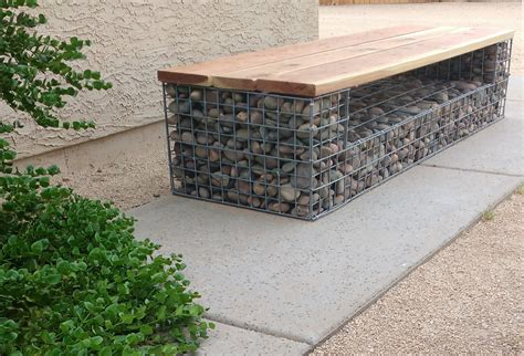 gabion bench gabion baskets and gabion wall design we create beautiful
