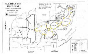 Green Lakes State Park Map by Hiking Green Lakes State Park Theoutdoorkids