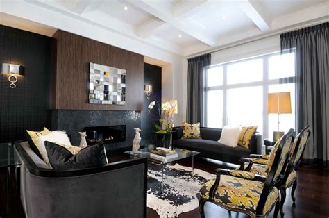 black accent wall in living room 20 knockout black accent wall in the living room home design lover