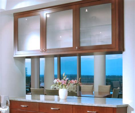 kitchen cabinets glass front glass front kitchen cabinets traditional kitchen other by benvenuti and stein