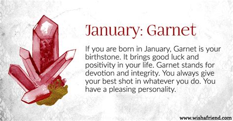 born lucky definition your birth stone is january
