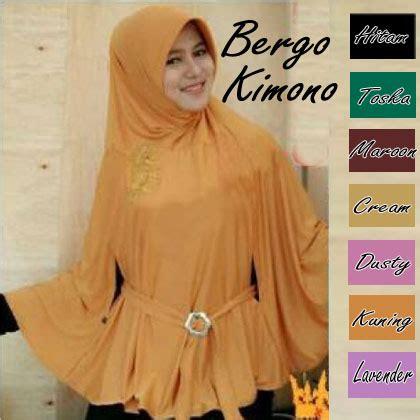Kimono Instan Jersey 2g6s jual jilbab bergo kimono sipp shop