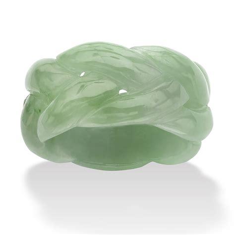 real jade green jade braided ring ebay