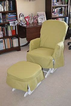 Slipcover For Glider And Ottoman Glider Slipcover On Glider Redo Glider Chair And Rocking Chair Cushions