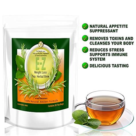Detox Tea Weight Loss In Stores by E Z Detox Diet Tea Burner Appetite Suppressant Fast