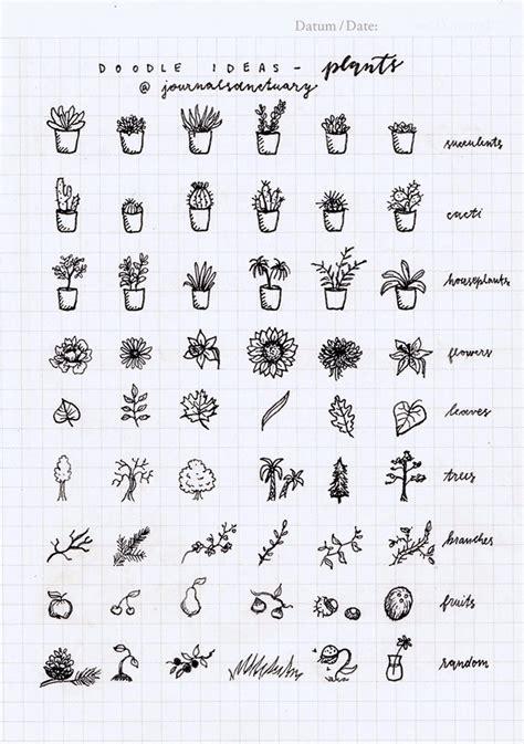 doodle drawing prompts bullet journal inspiration