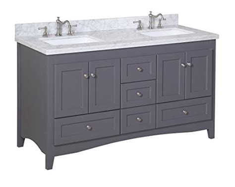 kitchen bath collection vanities kitchen bath collection kbc38602gycarr d sink