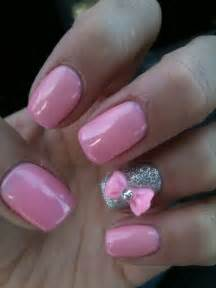 33 cute nail ideas with bows style motivation
