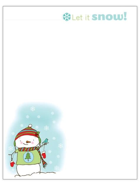 Microsoft Word Templates Place Holder Cards Winter by Letter Templates Free Best Template Idea