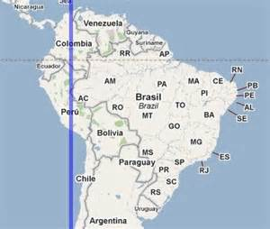map of south america with latitude and longitude compare point latitudes and longitudes with iso longitude