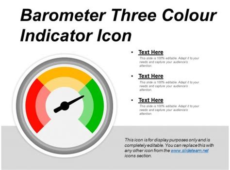 barometer  colour indicator icon  graphics  powerpoint