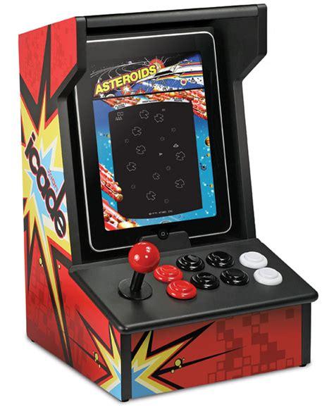 Icade Arcade Cabinet icade turns ipads into arcade cabinet technabob