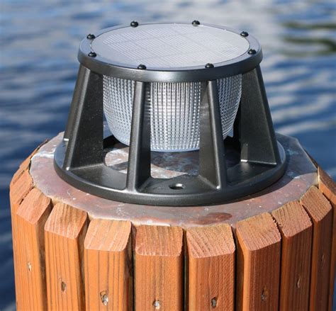 piling mounted dock lights marine dock lighting lilianduval