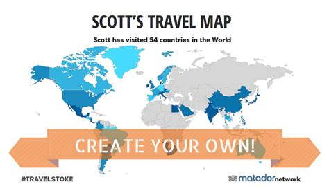 make your own world map introducing the travelstoke world map create yours today