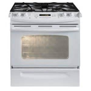 home depot slide in range ge 4 1 cu ft slide in gas range with self cleaning oven