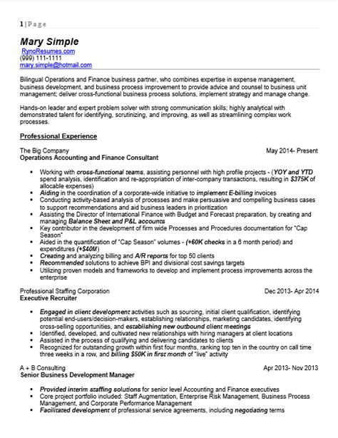bilingual resume resume templates retired teacher