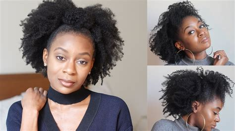 4c thin hair blog quick natural hairstyles half up half down twist out for