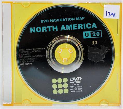 dvd navigation map america toyota 4runner sr5 2005 genuine dvd navigation map
