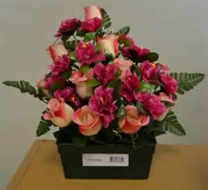acheter des fleurs pas cher fleurs artificielles pour deuil et cimeti 232 re au fil des