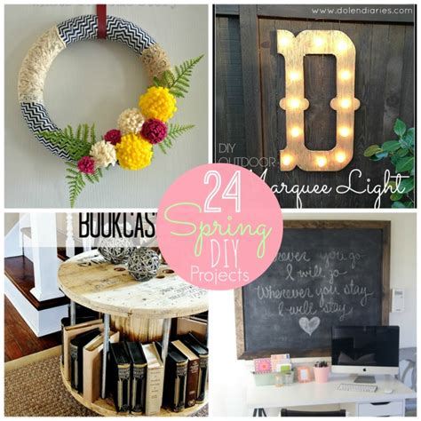 diy spring projects great ideas 24 spring home diy projects