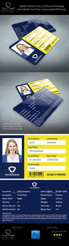 umd business card template this is maryland usa state drivers license psd