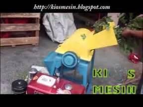 Mesin Perajang Rumput Mini mesin cacah serba guna dengan penggerak roda doovi