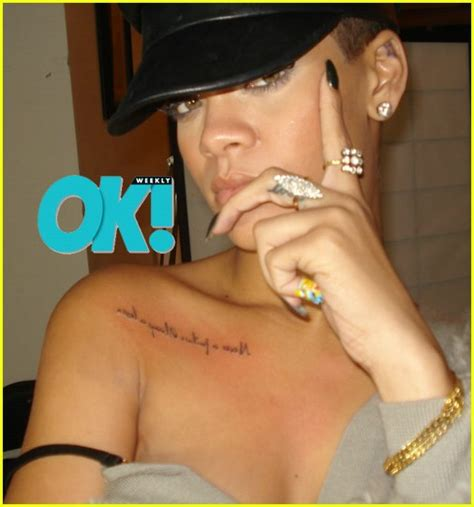 rihanna sternum tattoo it or it rihanna s new drjays live