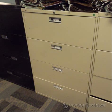 4 drawer locking file cabinet hon beige 4 drawer lateral file cabinet 36 quot locking