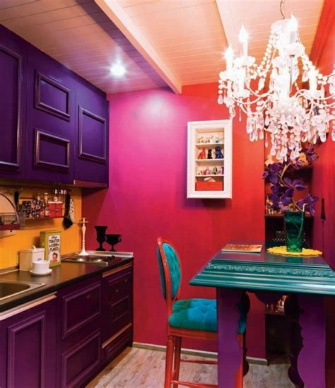 kitchen ideas decorating small kitchen picture of bold decor could make a small kitchen shine