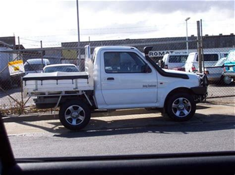 jeep ute conversion jimny ute conversion australian 4wd forum