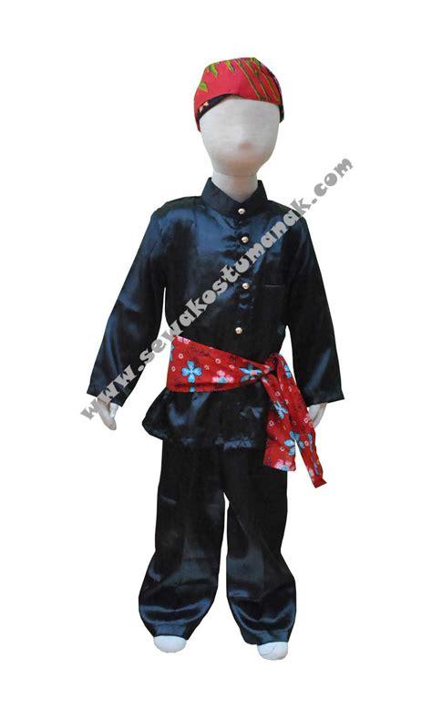 pakaian adat betawi baju adat betawi sewa kostum anak jakarta dan indonesia