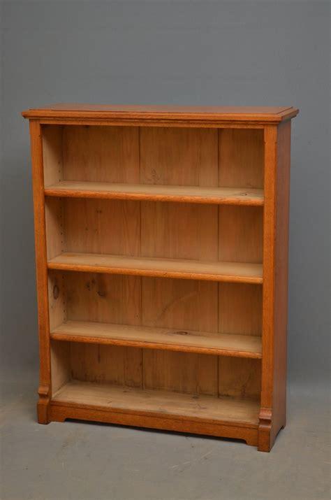 open bookshelves small oak open bookcase antiques atlas