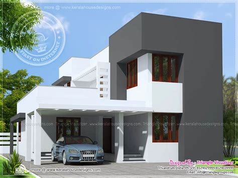 small modern house plans august 2015 home kerala plans