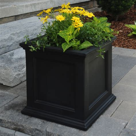 Large Patio Planter Pots Modern Patio Outdoor Outdoor Planters