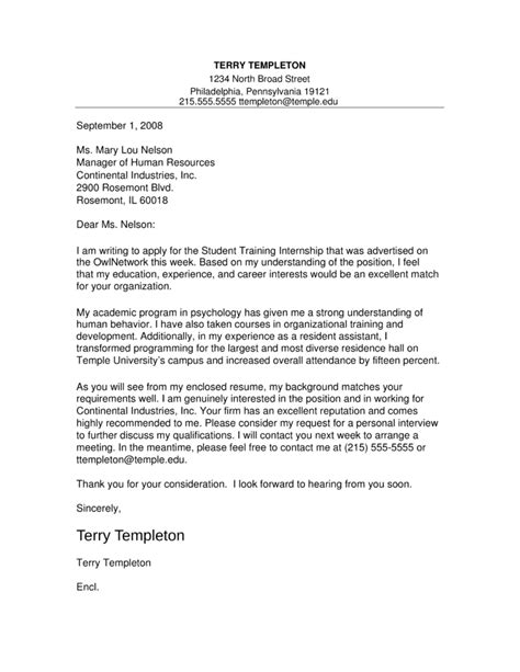 internship cover letter for college students military bralicious co