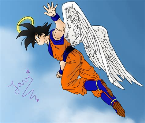 Imagenes De Goku Angel | goku angel by yooko sama on deviantart