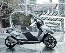 Peugeot 3 Wheel Scooter Peugeot Hymotion 3 Three Wheels Scooter Concept Tuvie