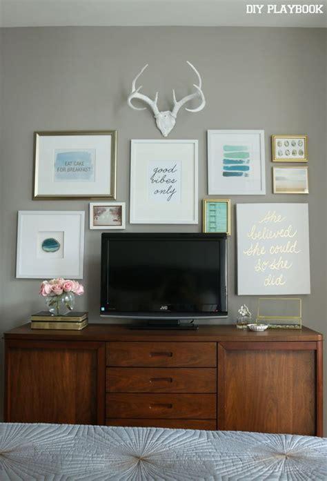 ideas  decorating  tv  pinterest