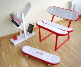 All Chairs Design Ideas Cool Furniture Ideas With Skateboard Style From Skate Home