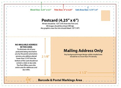 4x6 postcard template az photos