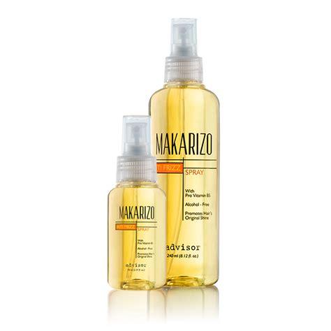 Makarizo Anti Frizz Spray 240 Ml advisor anti frizz spray hair repair makarizo advisor