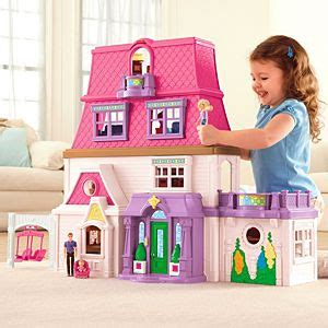 black dollhouse family loving family toys figures accessories fisher price