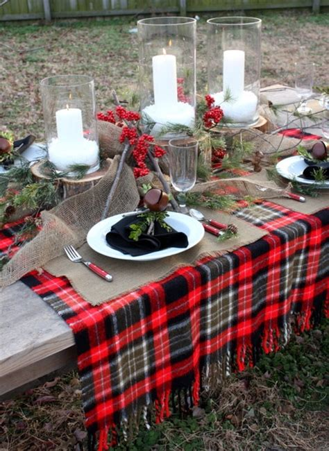 themed party nights scotland 18 beautiful outdoor christmas table settings digsdigs