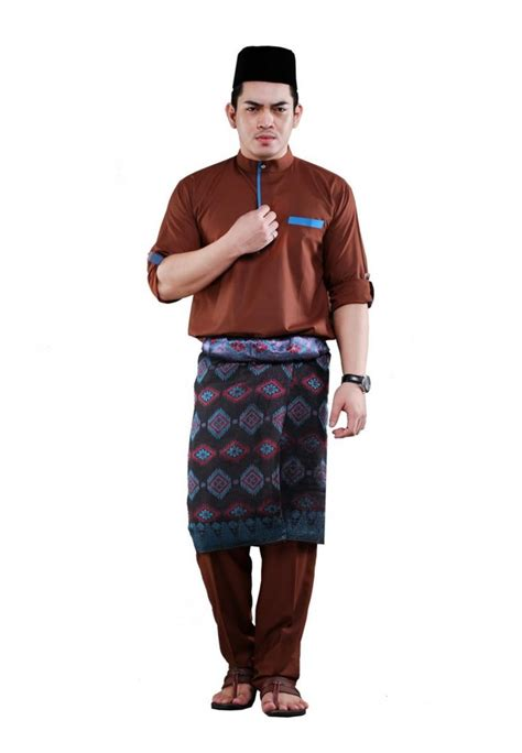 Baju Melayu Lelaki Johor 17 fesyen baju melayu johor wanita dan lelaki slim fit moden terkini