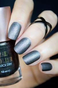 matte nail colors 1 2 ways severina gunmetal black matte nail