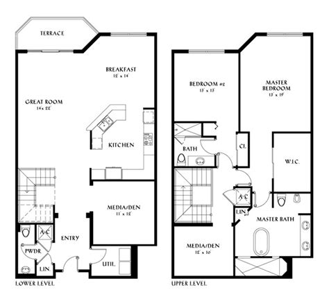 waterview condo floor plan condo floor plans luxury condo floor plans at meridian
