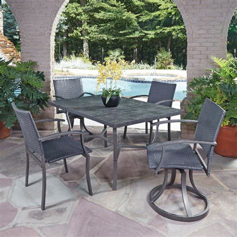 patio furniture wayfair wayfair patio dining sets trex monterey bay 7 dining set reviews wayfair home styles 5